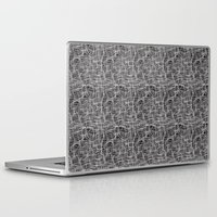 grid Laptop & iPad Skins featuring Grid by ChantalNathalie