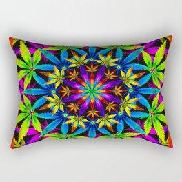 Stoners' Mandala 2 Rectangular Pillow