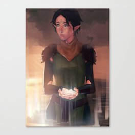 well of sorrows Canvas Print