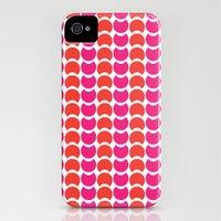 HobNobFucshia iPhone (4, 4s) Slim Case
