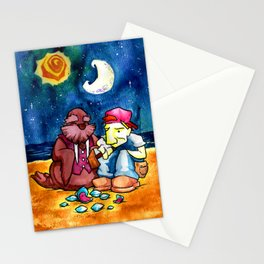 The Walrus and the Carpenter Stationery Cards