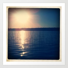 SOFT WATER Art Print