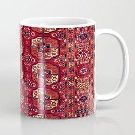 Tekke  Antique West Turkestan Rug Print Coffee Mug