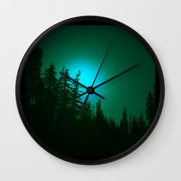Peeping Luna Wall Clock