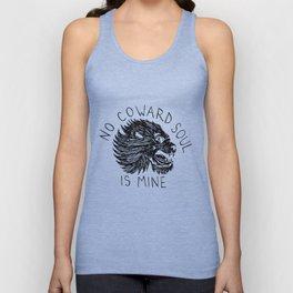 No Coward Soul is Mine Unisex Tank Top