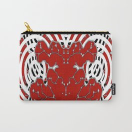 Red Invasion Carry-All Pouch