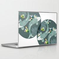 koi Laptop & iPad Skins featuring Koi by Amanda Dilworth