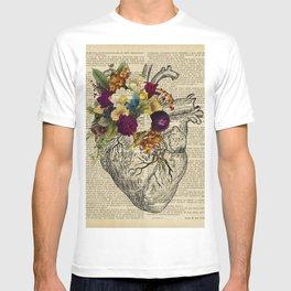 human flower heart  T-shirt
