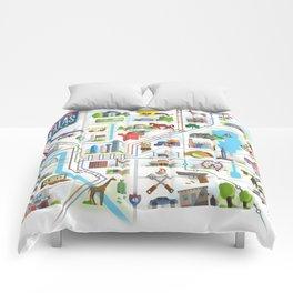 Take Time For Dallas Comforters