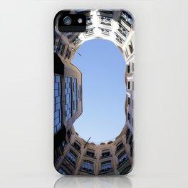 Barcelona Photography - Casa Mila La Pedrera iPhone Case
