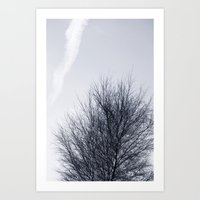 cloud Art Prints featuring Cloud by Anne Staub