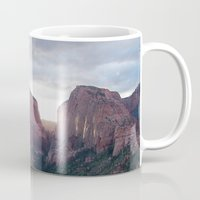 utah Mugs featuring Zion- Utah by Photography by COCO