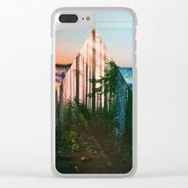 Breach 01 Clear iPhone Case