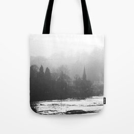 Town In The Valley Tote Bag