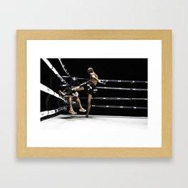 Jay's Revenge Framed Art Print