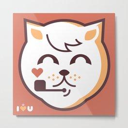 UNDO |ILU Pet Lover series [ brando ] Metal Print
