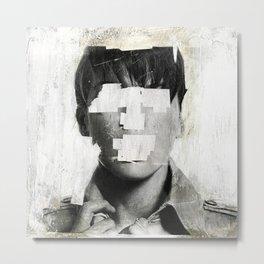 Faceless | number 02 Metal Print