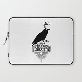 Dare To Question | BLK Laptop Sleeve