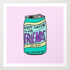 HFTWF Seltzer Art Print