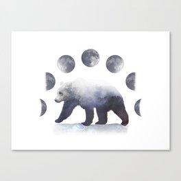 Moon Bear Canvas Print