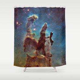 Pillars of Creation NebulA Shower Curtain