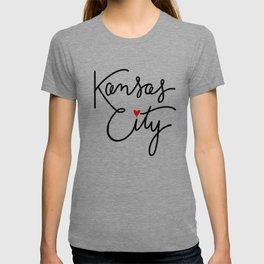 Cursive Kansas City Love T-shirt