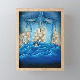 Depression Framed Mini Art Print
