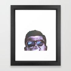J.F.K. Framed Art Print