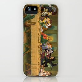 Tax Collectors and Sinners: Pop Culture Last-Supper iPhone Case