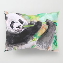 Panda lovin' Pillow Sham