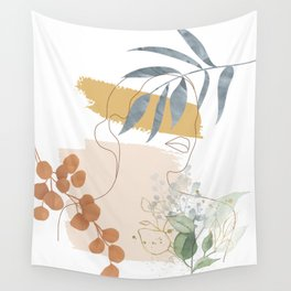 Line in Nature II Wall Tapestry