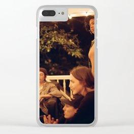 Supper club Clear iPhone Case