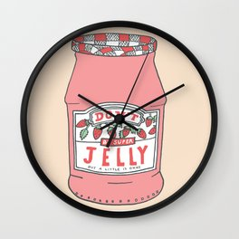 Don't Be Jelly Wall Clock