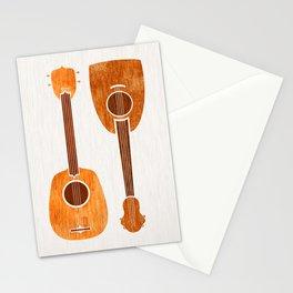 Hawaiian Ukuleles Stationery Cards
