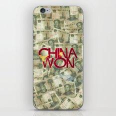 China Won iPhone & iPod Skin