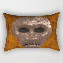 Alien Face Rectangular Pillow