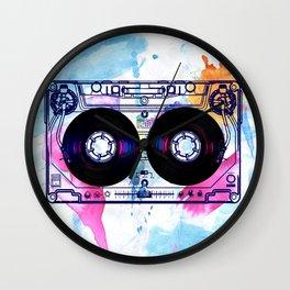 Old School New DJ Wall Clock