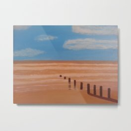 By the beach Metal Print