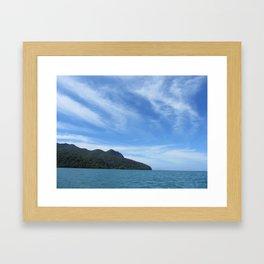 Datai Bay, Andaman Sea Framed Art Print