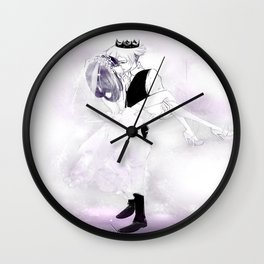 Mannequin King and Queen  Wall Clock