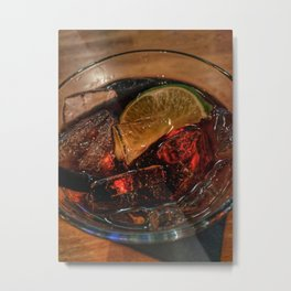 Rum and Coke Metal Print