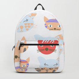 Cats pattern 3d Backpack
