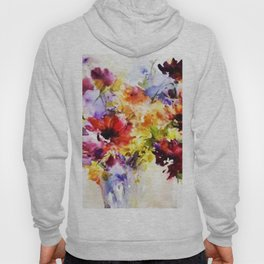 Floral Art Hoody