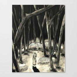 Tzeitel and the Woods, No. 6 Canvas Print