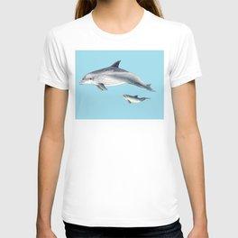 Blue Bottlenose dolphin T-shirt