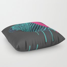 Zebra's Not Dead Floor Pillow
