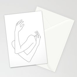 Crossed arms illustration - Jill Stationery Cards