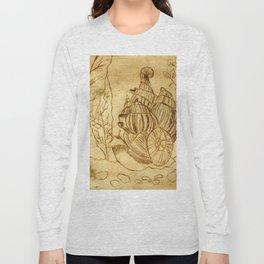 Snail Long Sleeve T-shirt
