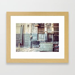 Alley ''97 Framed Art Print