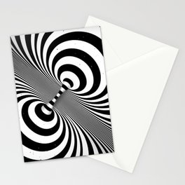 Dualism (black & white) Stationery Cards